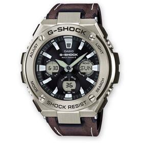 CASIO G-SHOCK GST-W130L-1AER Zegarek Mężczyźni, black silver/white black